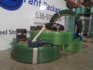 Plastic Banding with Strapping Tools