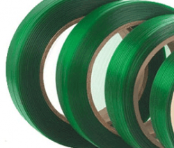 Green Plastic Strap Rolls